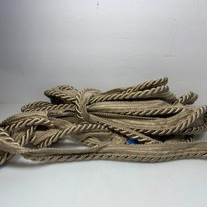 """Gold Cord Trim 328"""" New & Unused Sewing Crafts"""